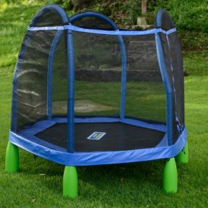 Indoor Outdoor Trampoline Combo