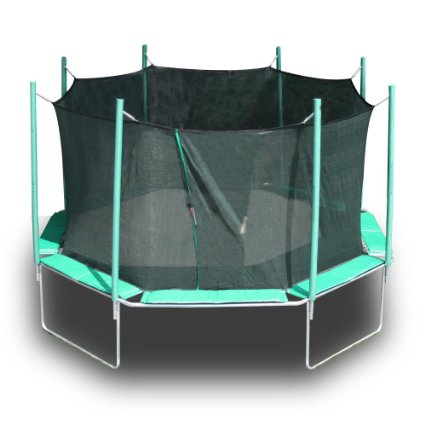 Magic Circle Octagon Trampoline With Enclosure