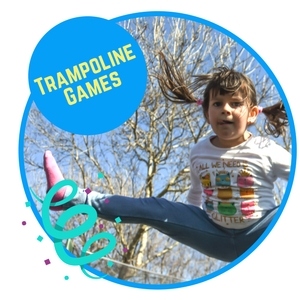 fun trampoline games that children play