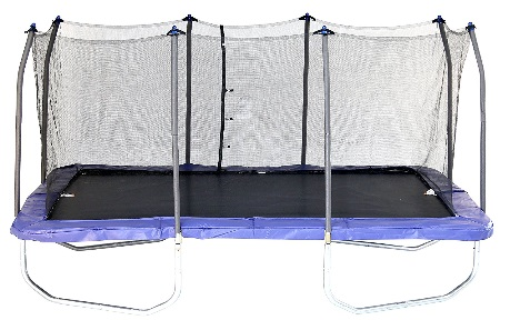 olympic trampoline Skywalker Rectangle Trampoline with Enclosure