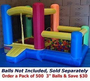 My Bouncer Little Castle Ball Pit for kids