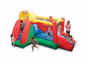 Little Tikes Double Fun Slide 'N Bounce
