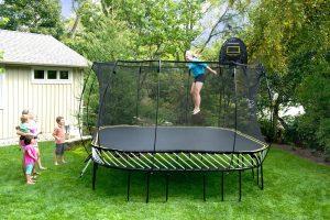 best trampoline for safety