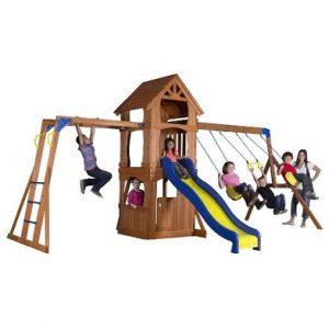 best backyard swing set