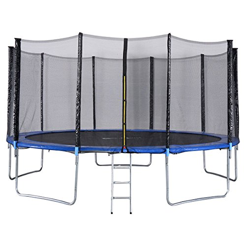 Giantex Trampoline Combo Bounce Jump Safety Net Review