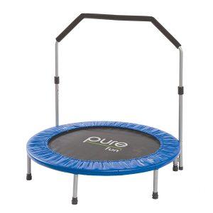 pure fun mini foldable trampoline