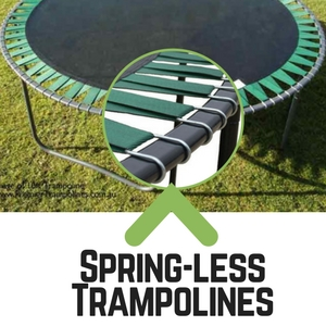 trampoline safety- spring less