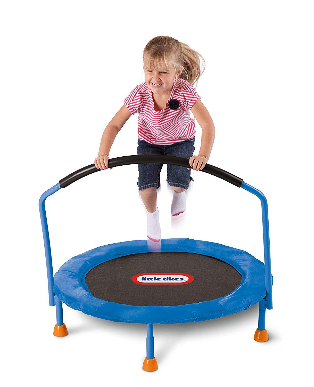 Little Tikes 3' best trampoline for kids - Trampoline Reviews 8 Best Trampolines [Safest Backyard Brands 2018]