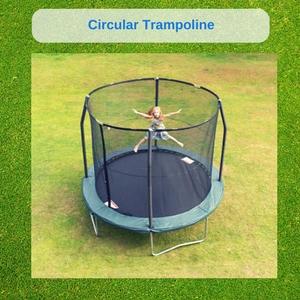 standard trampoline size