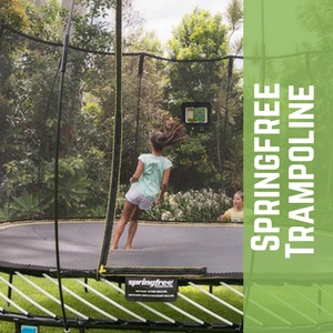 Trampolines Springfree Best Trampoline Brand For Safety