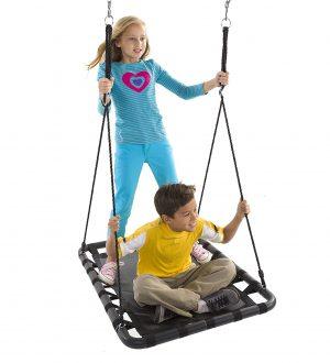 mega mat trampoline swing