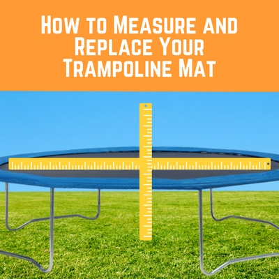 Trampoline Mat How To Measure A Replacement Trampoline Mat