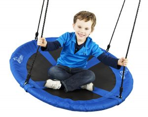 trampoline swing flying