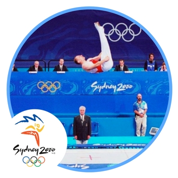 history of trampolines olympics sydney 2000