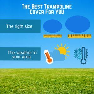 trampoline cover for rain