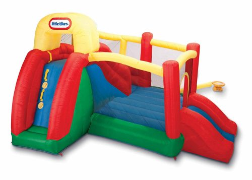bounce house reviews double slide