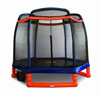 little tikes trampoline with enclosure