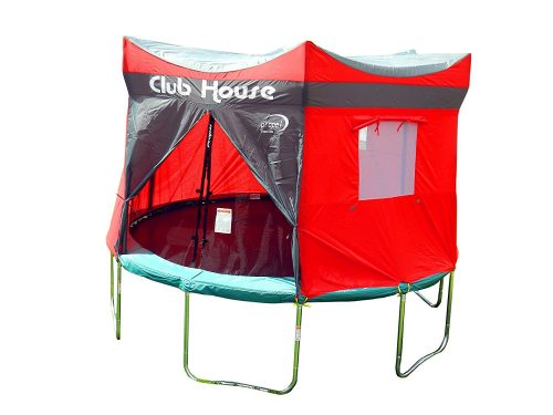 trampoline club house tent